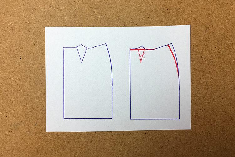 Návod jak odstranit pasový záševek ze střihu