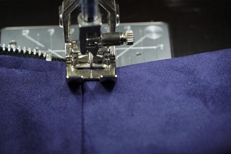 Střih na elegantní dámskou sukni TO THE CITY + návod na šití