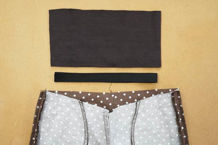 Návod jak ušít jednoduché dětské kalhoty (+ střih)