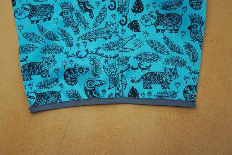 Návod jak ušít dětské softshellové kalhoty (+ střih)