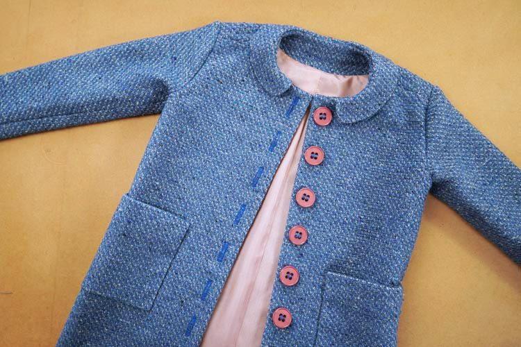 Návod jak ušít dětský kabátek