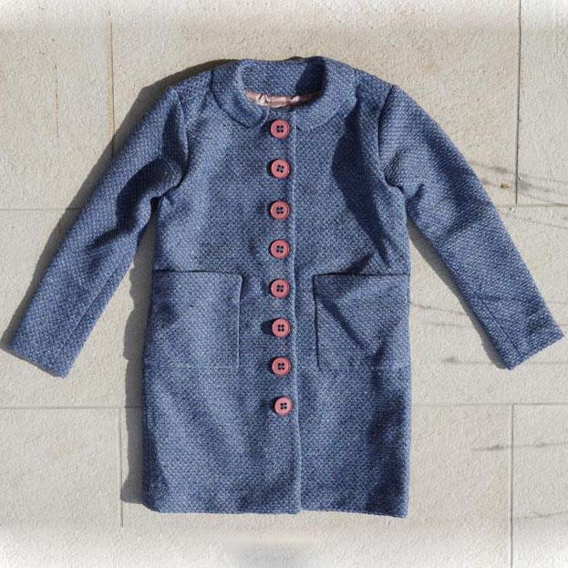 Střih na dětský kabát