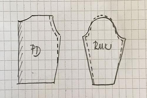 úprava náramenice