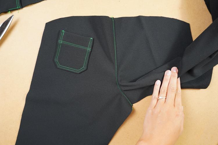 Návod jak ušít softshellové kalhoty (dětské) - rostoucíNávod jak ušít softshellové kalhoty (dětské) - rostoucíNávod jak ušít softshellové kalhoty (dětské) - rostoucí