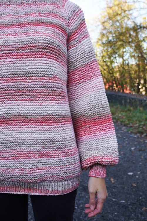 Jednoduchý návod na dámský pletený svetr zdarma