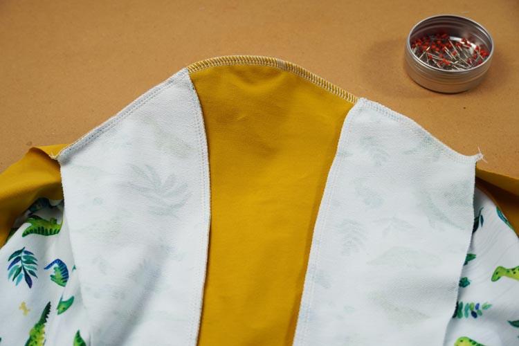 Návod jak ušít jednoduché (mikino)šaty + střih
