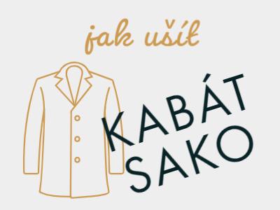 Jak ušít kabát nebo sako (střih + návod)