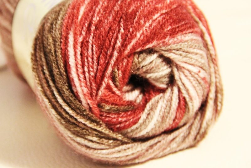 Návod na háčkovanou šálu: Pletací příze Nako