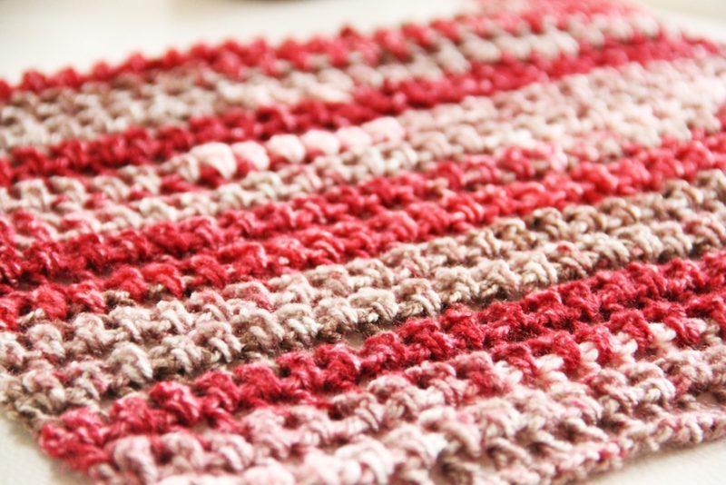 Návod na háčkovanou šálu