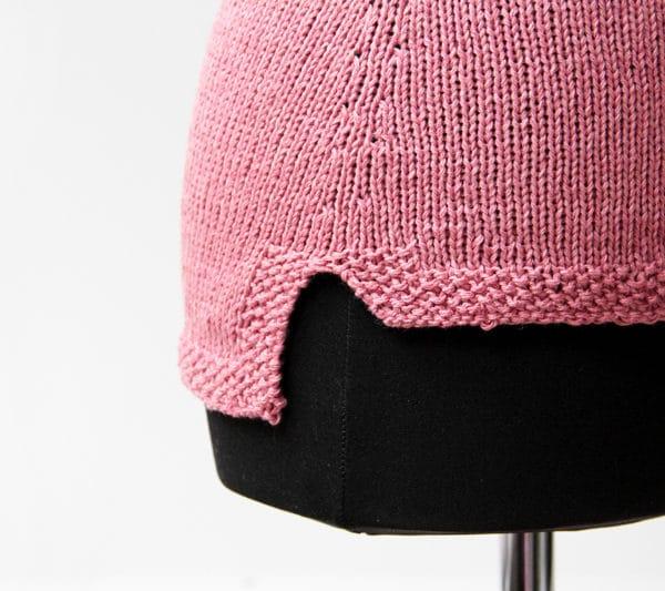 Návod na dámskou pletenou vestičku