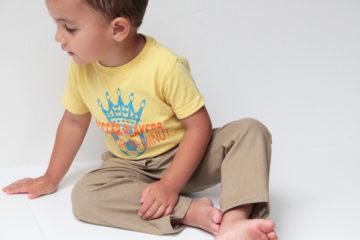 Střih na dětské kalhoty