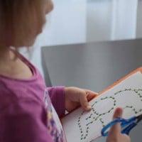 Tvoříme s dětmi - vyšívání