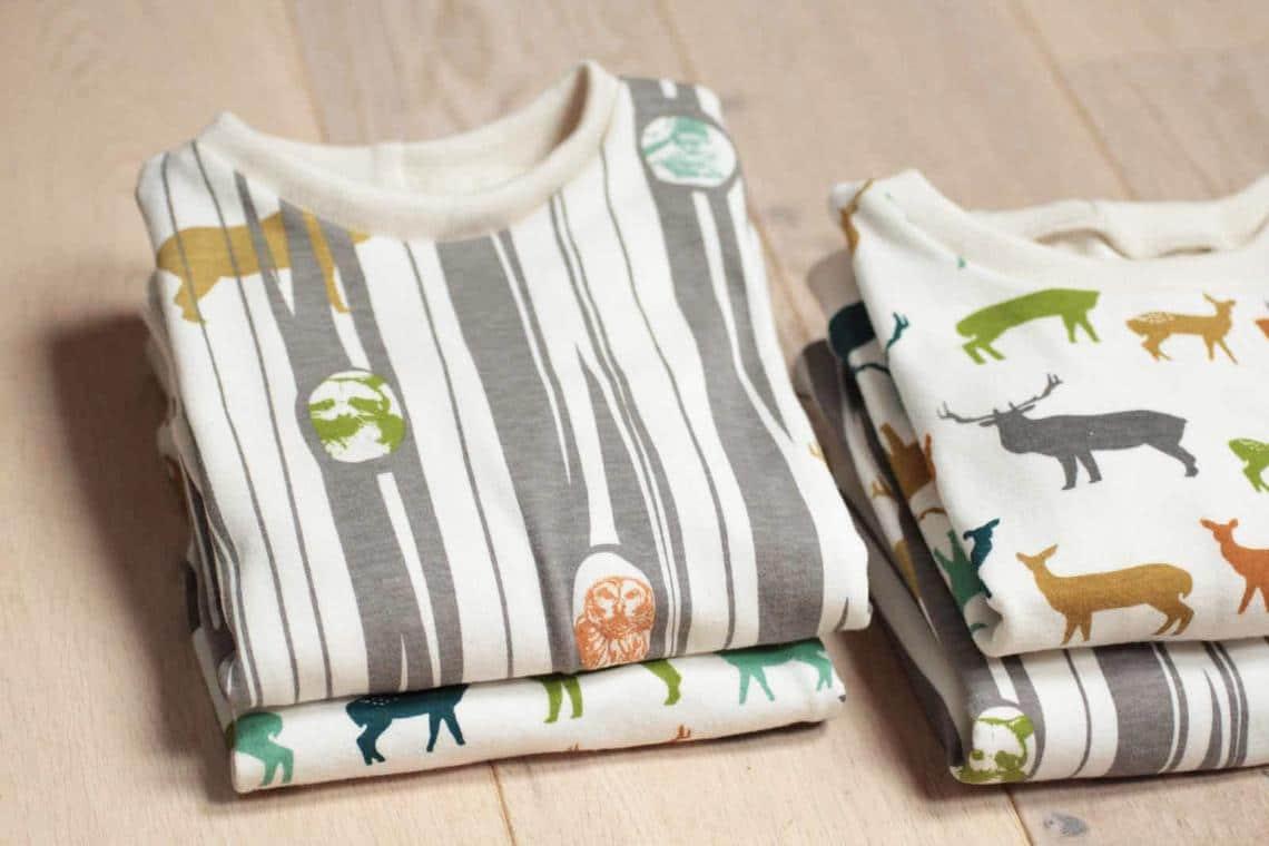 Jak ušít tričko: Dětské tričko z biobavlny