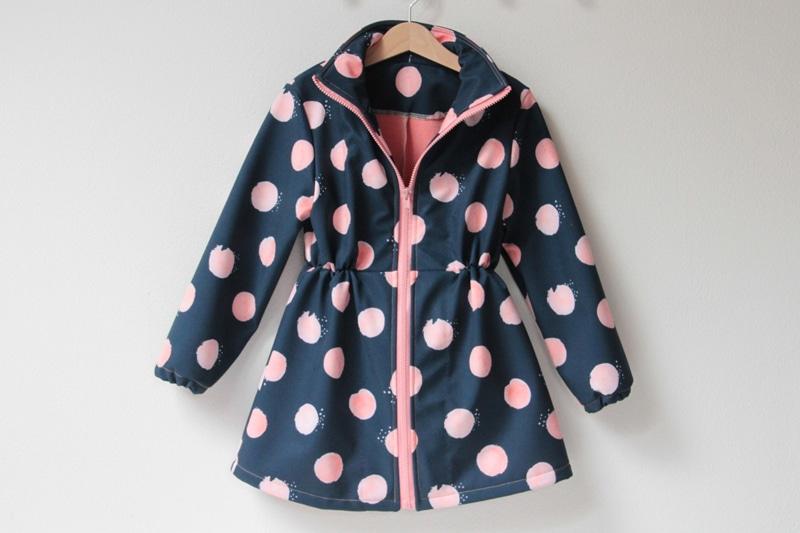 Střih na dětský (nejen softshellový) kabátek - velikosti 86 - 140 1149463b428