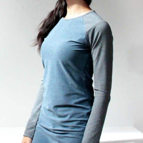 Střih na dámské tričko