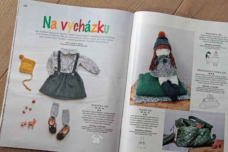 Burda 10/2017 - móda pro děti