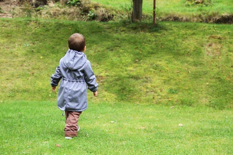 Střih a návod na dětskou bundu (parku)