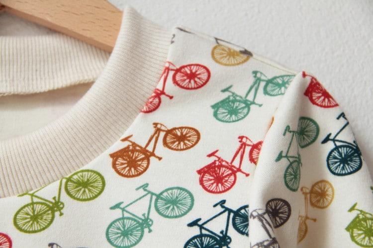 Teplé tričko z bio bavlny Birch fabrics