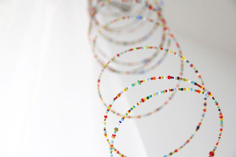 Návod DIY: Korálkový závěs