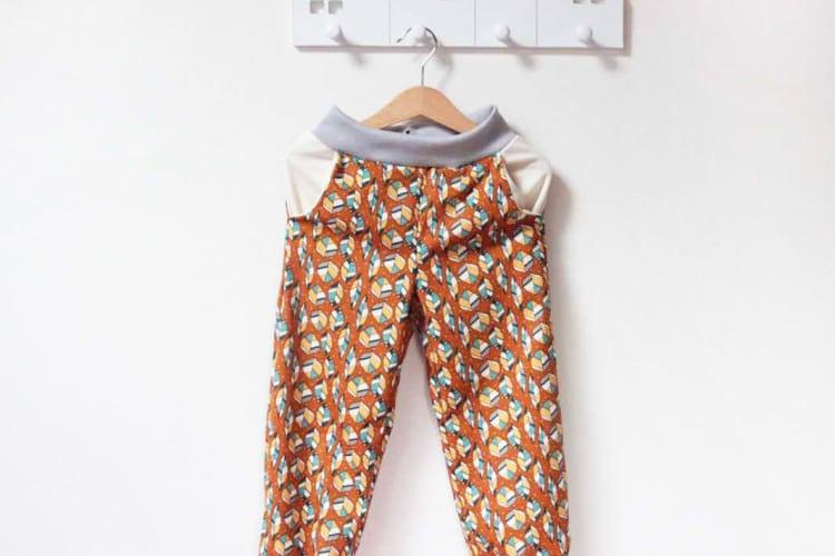 Dětské tepláčky z BIO bavlny Birch fabrics
