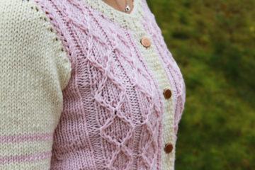 Návod na dámský pletený svetr