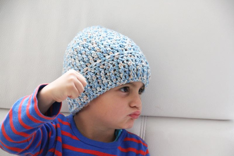 Návod na háčkovanou čepici