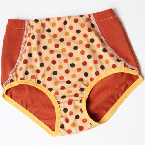 Střih na dětské retro (vysoké) kalhotky