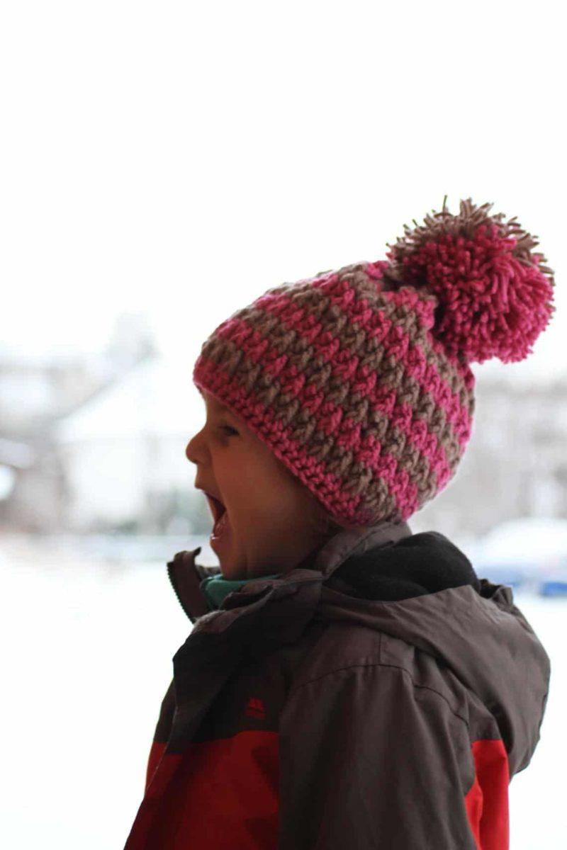 Návod na dětskou háčkovanou čepici