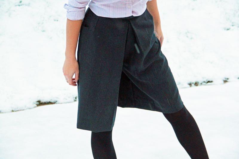 f2b5f1289f2 Střih na kalhotovou sukni (+ návod) - velikosti 32 - 52