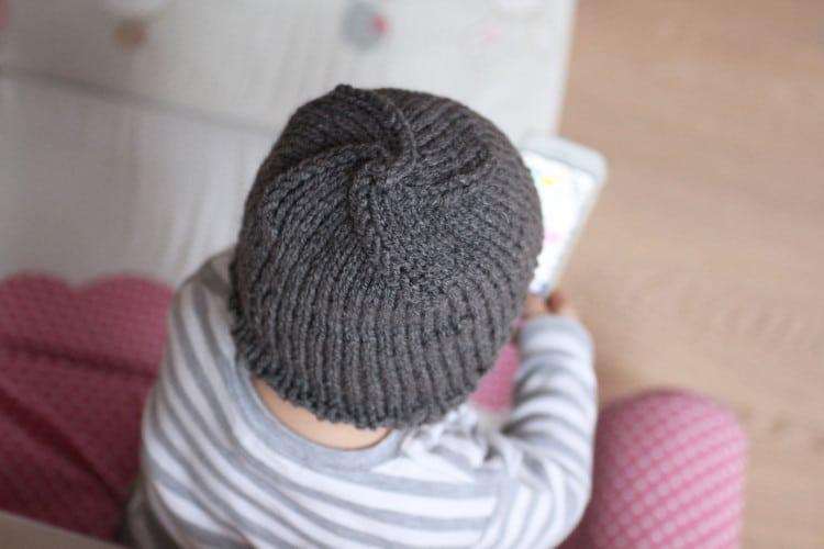 Jednoduchý návod na dětskou pletenou čepici