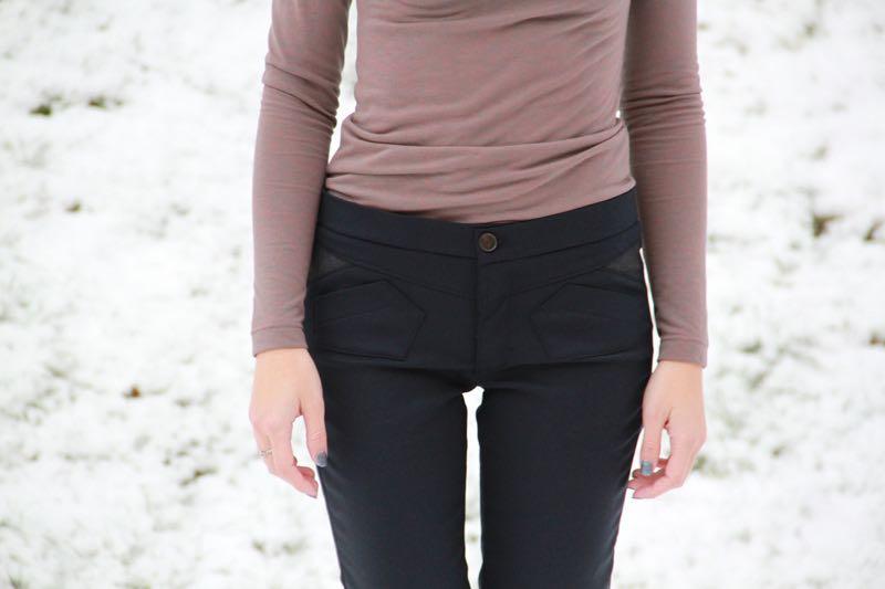 Střih na dámské kalhoty