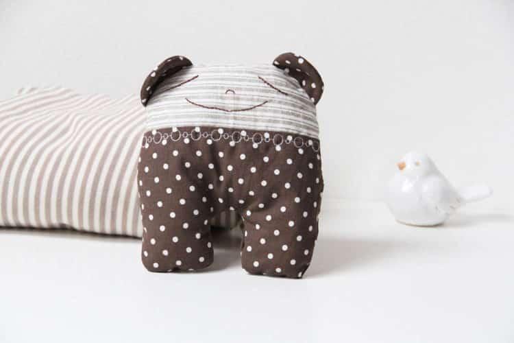 Mumínek - látková hračka pro miminko
