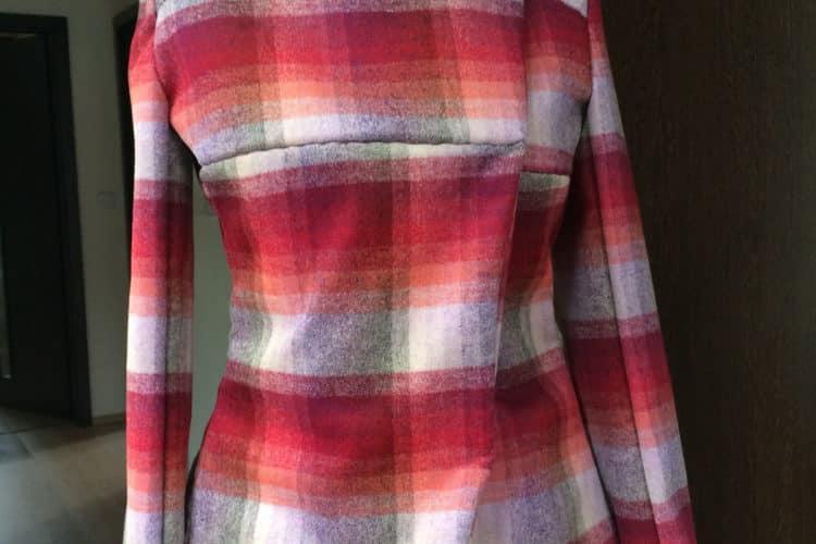 Můj nový vlastnoručně šitý jarní kabátek, střih Burda Style 104-01-2015