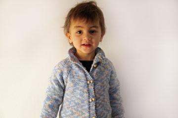 Návod na dětský pletený svetr - vhodné i pro úplné začátečníky