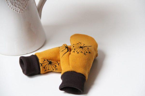 Střih a návod na dětské rukavice palčáky