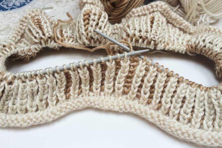 Návod na pružný pletený vzor