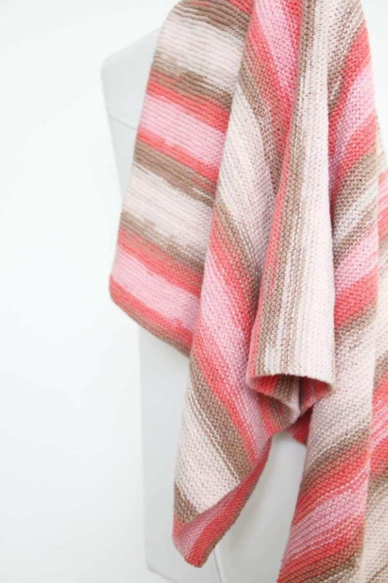 Ručně pletená deka pro miminko