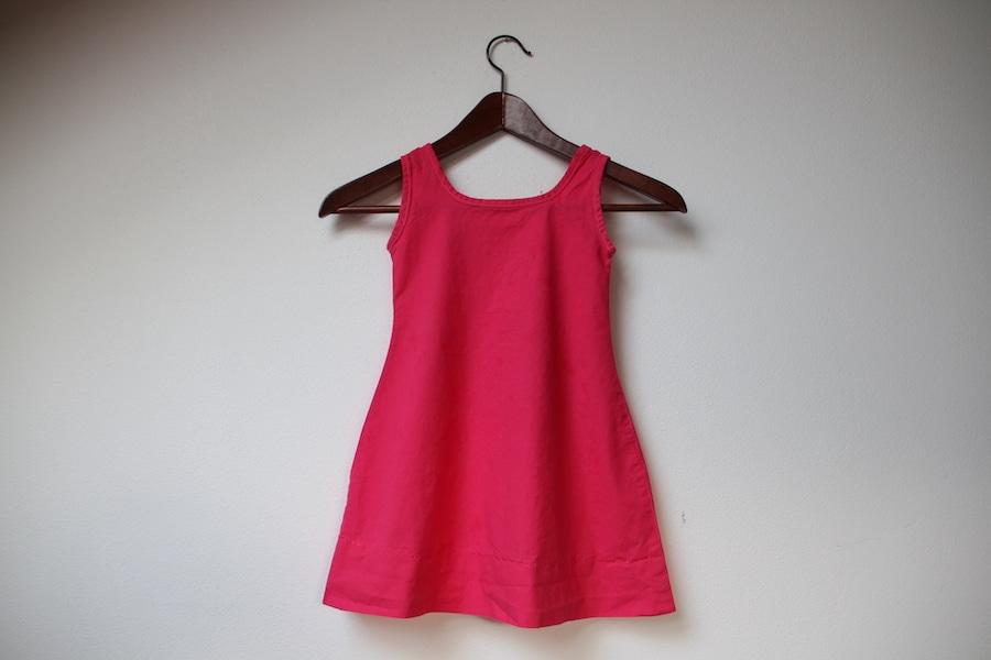 Růžové šaty pro Terulku