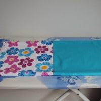 Rozžehlené látky - jedna dlouhá nohavice