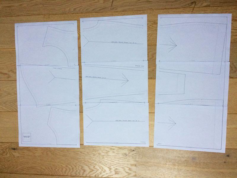 Jak slepit papírový střih z A4