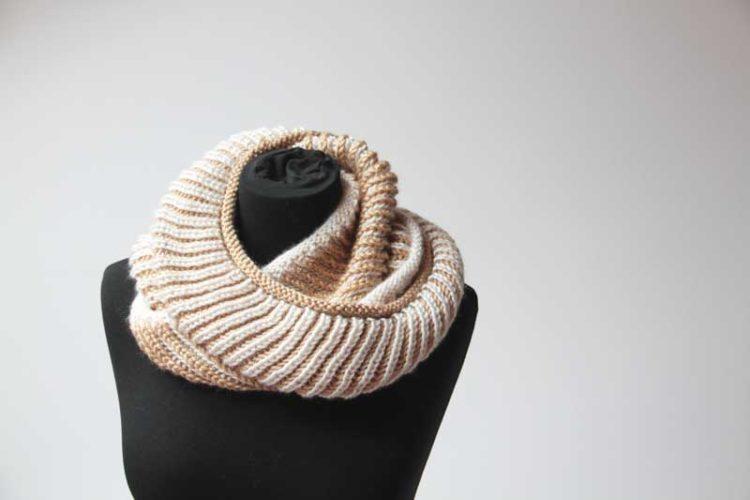 Návod na pletený nákrčník