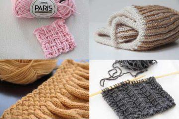 Návod zdarma na vzor pletení
