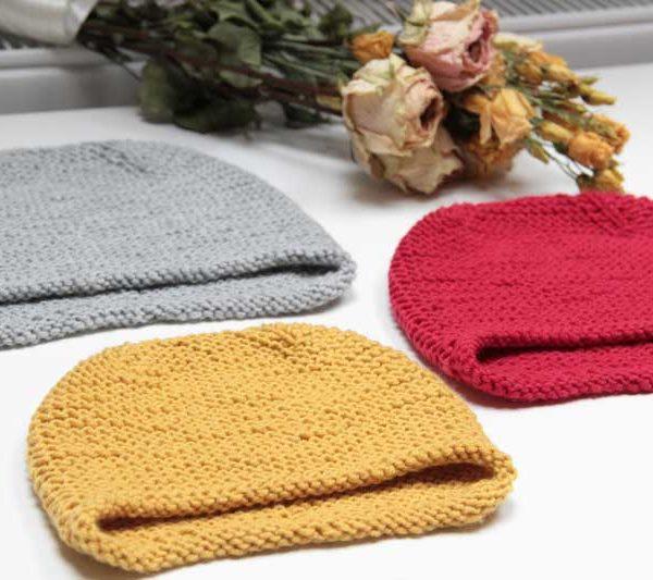 Ručně pletená dámská či pánská čepice