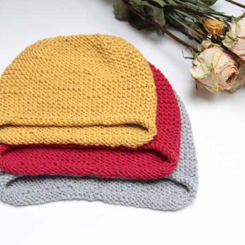 Návod na pletenou čepici