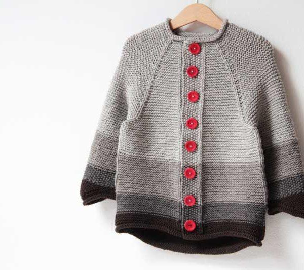 Návod na dětský pletený svetřík