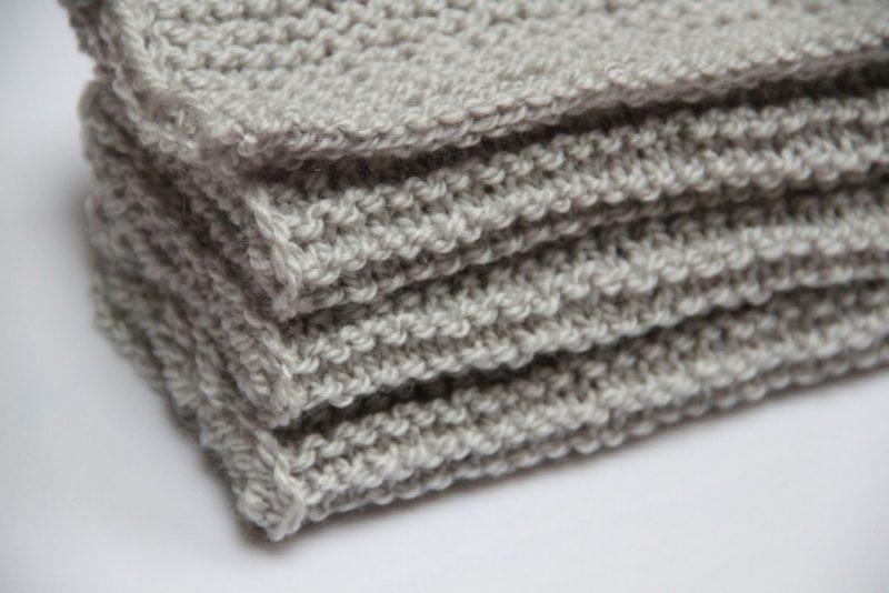 Pletená šála pro babi