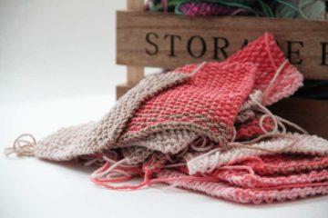 Ručně pletená deka