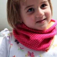 Varianta pro dětskou velikost: Návod jak ušít nákrčník