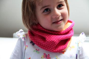 Návod jak ušít (nejen dětský) nákrčník