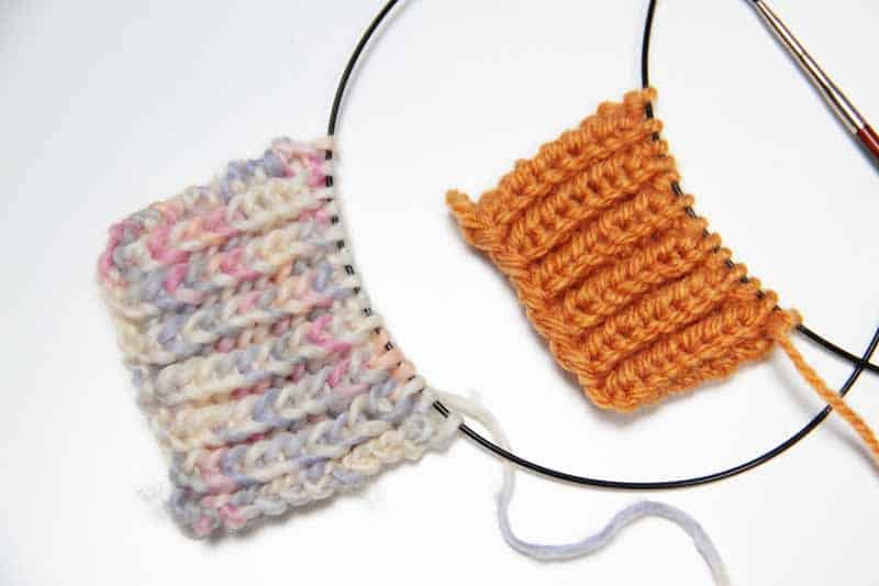 Návod na pletený pružný chytový vzor (nejen na patent). Angl. brioche
